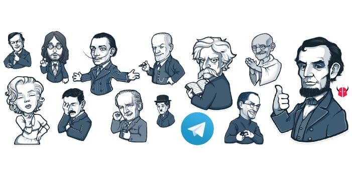 inviare sticker su Telegram guida iPhone Android