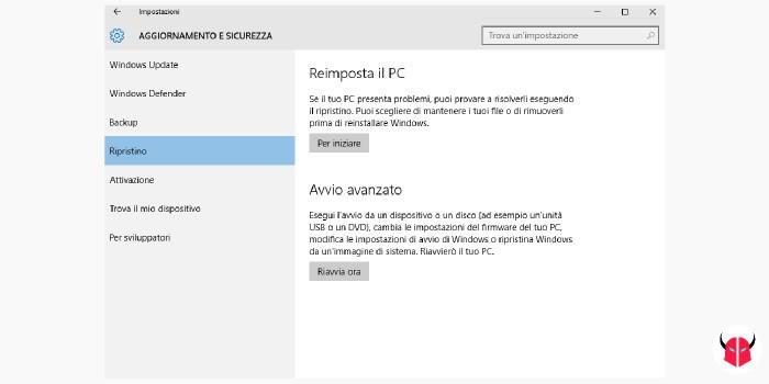 Windows 10 lento modalità provvisoria