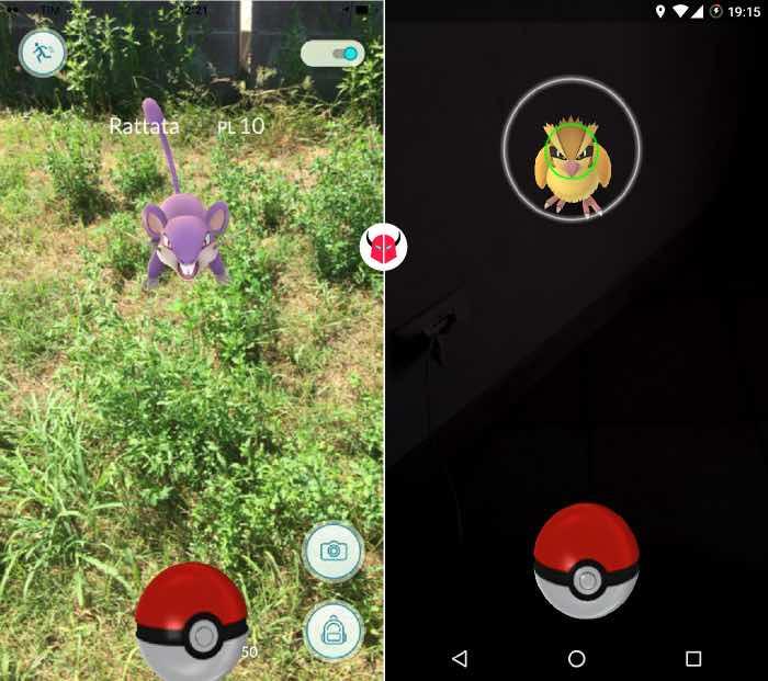 come catturare Pokemon su Pokemon Go lancio della Poké Ball