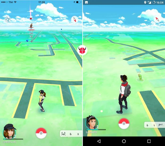come catturare Pokemon su Pokemon Go mappa