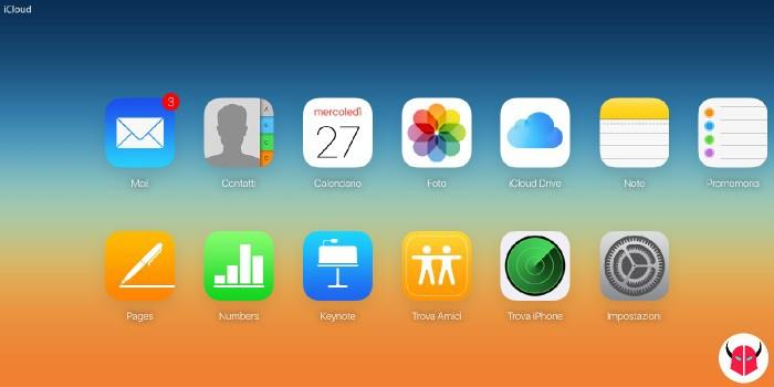 come disattivare Trova il mio iPhone tramite iCloud da computer