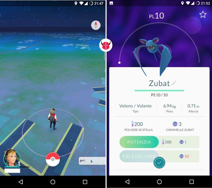 come funziona PokeVision per Pokemon Go cattura di un Pokémon