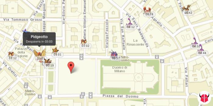 come funziona PokeVision per Pokemon Go mappa e tempo