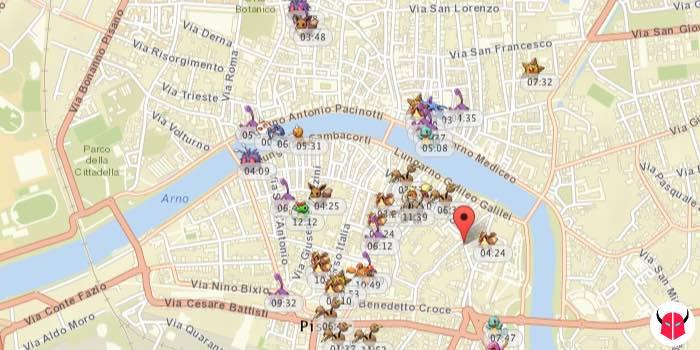 come funziona PokeVision per Pokemon Go mappa