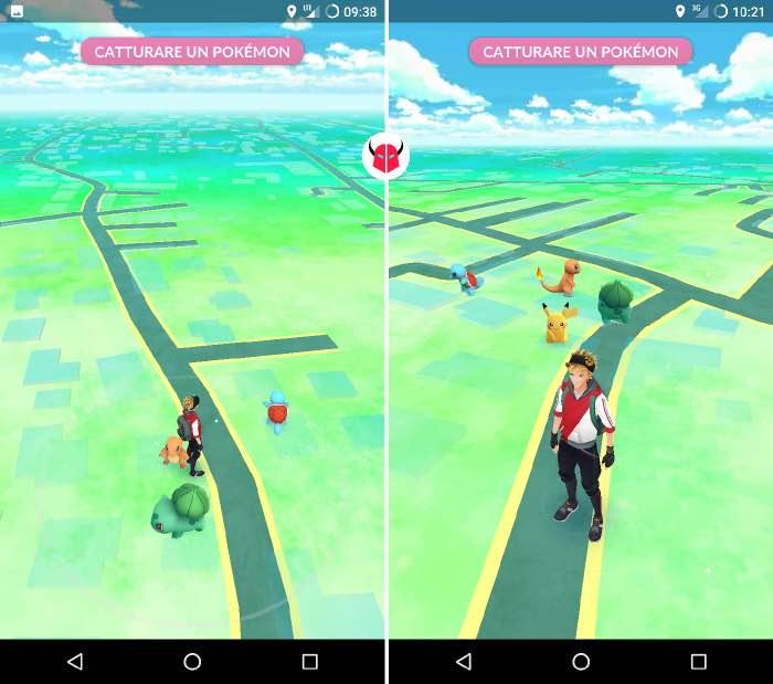 come trovare Pikachu su Pokemon Go apparizione sulla mappa