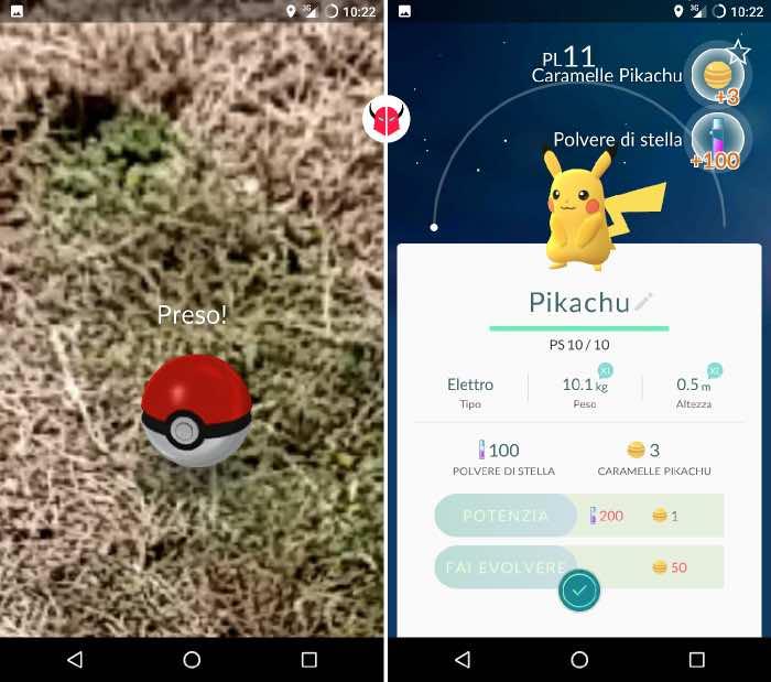 come trovare Pikachu su Pokemon Go registrazione nel Pokédex