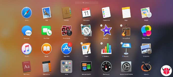 disinstallare programmi da Mac con il Launchpad