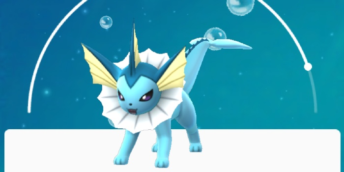come avere Vaporeon in Pokemon Go