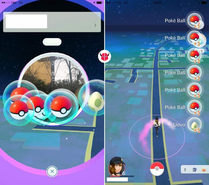 come far schiudere le uova in Pokemon Go PokéStop