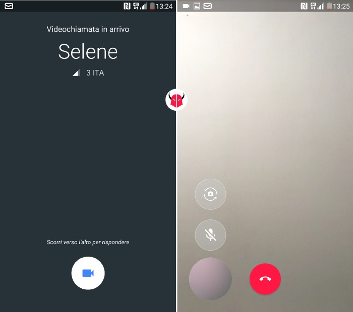 come funziona Google Duo videochiamata