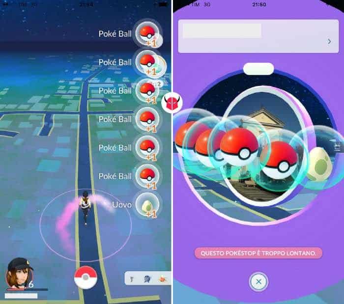 come trovare uova da 10 km in Pokemon Go avanzamento di livello e PokéStop