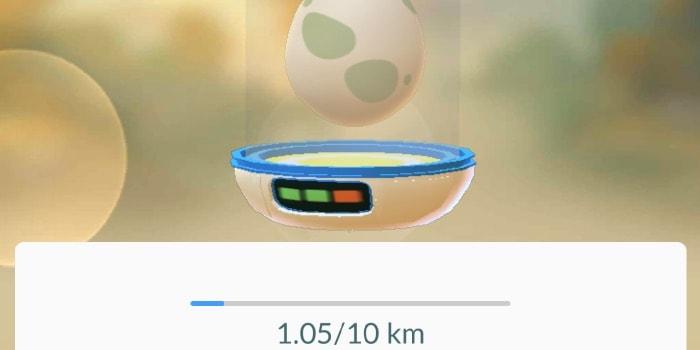 cosa si trova nelle uova di Pokemon Go 10 km