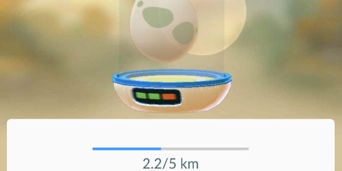 cosa si trova nelle uova di Pokemon Go 5 km