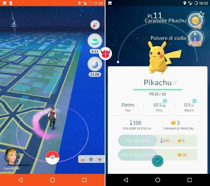 dove trovare Pikachu in Pokemon Go habitat
