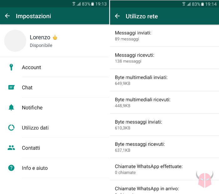 come scoprire con chi chatta su WhatsApp se ha un dispositivo Android