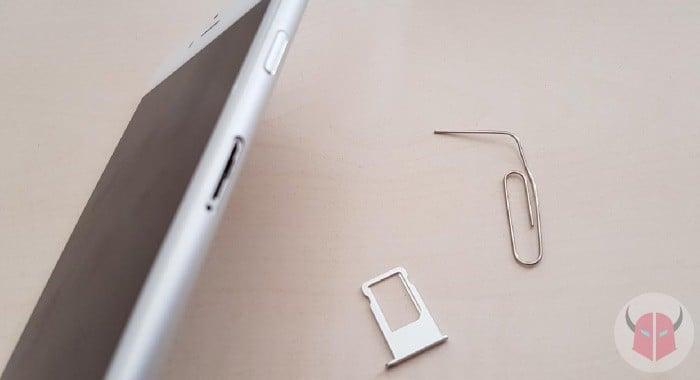 cosa fare se iPhone cade in acqua rimozione cassetto SIM