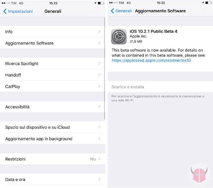 cosa fare se la tastiera di iPhone non funziona aggiornamento di iOS