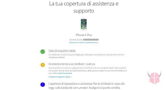 cosa fare prima di acquistare un iPhone usato verifica garanzia Apple