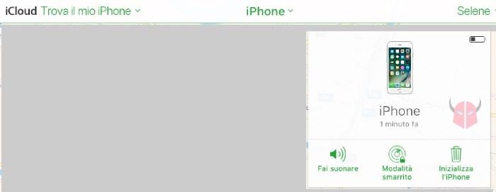 come bloccare iPhone rubato iCloud Trova il mio iPhone