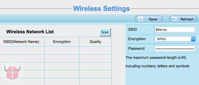 come mettere in rete telecamera IP collegamento rete wireless