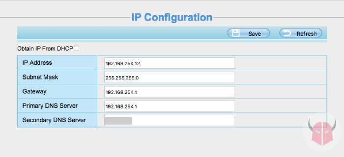 come mettere in rete telecamera IP indirizzo IP statico