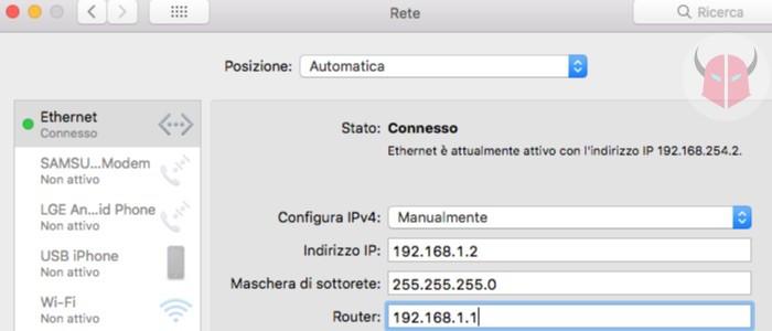 come cambiare indirizzo IP router modifica indirizzo IP computer