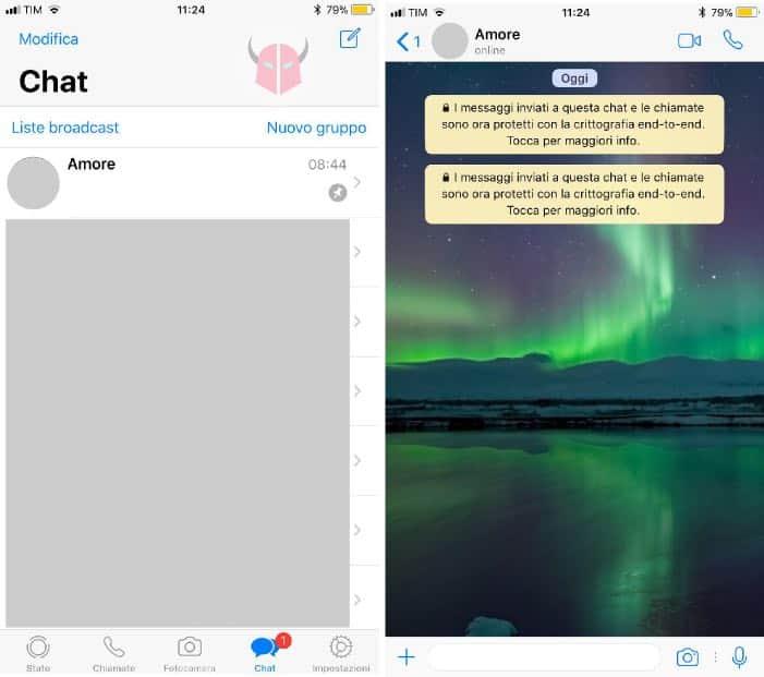 come scoprire se ti tradisce su WhatsApp scritta Online