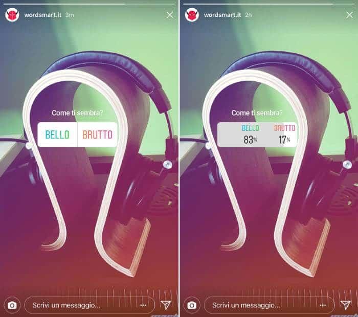 come votare sondaggi Instagram domanda e risposte