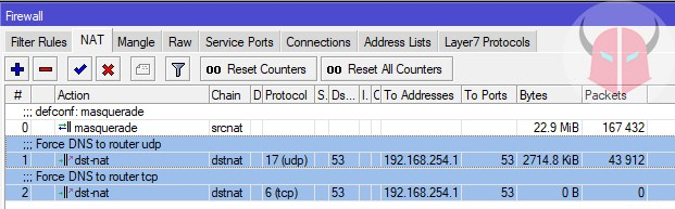 come cambiare DNS router firewall NAT