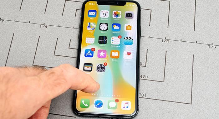 come chiudere applicazioni iPhone X