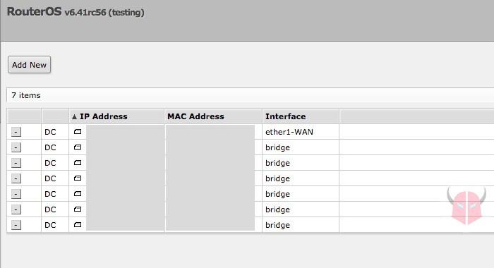 come proteggere il router indirizzi MAC