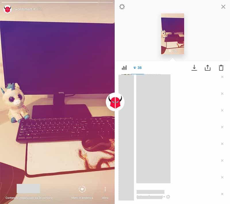 come vedere screen Storie Instagram visualizzazioni