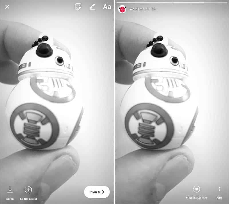 come mettere più Storie su Instagram condivisione