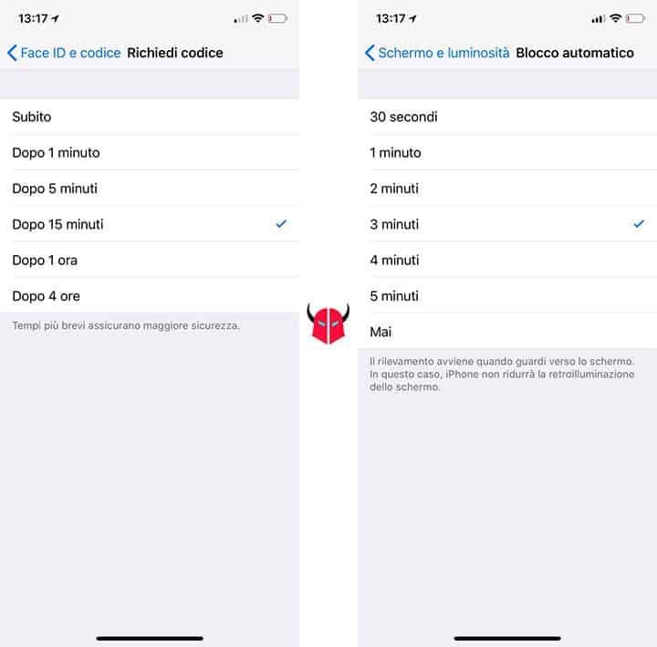 come togliere il codice di sblocco iPhone richiesta codice