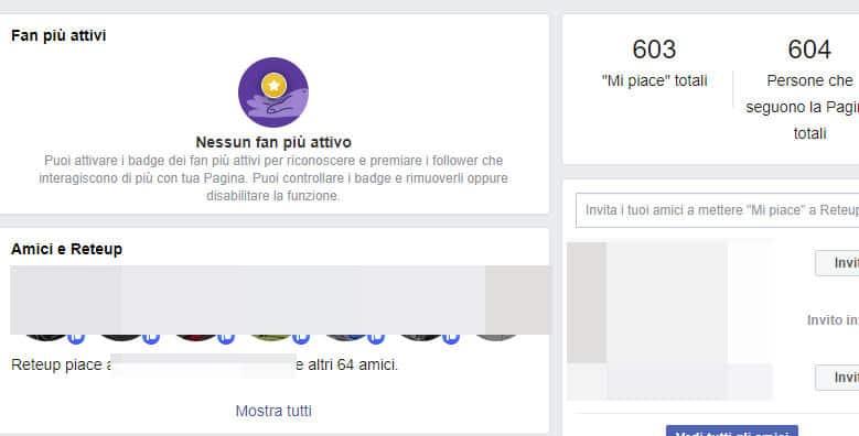 come vedere chi ti segue su Facebook fan più attivi Pagina