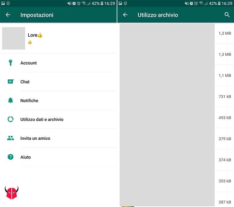 come vedere con chi sta chattando su WhatsApp utilizzo archivio