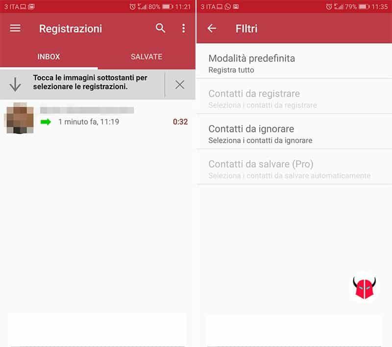come registrare una telefonata con Android Registratore Chiamate