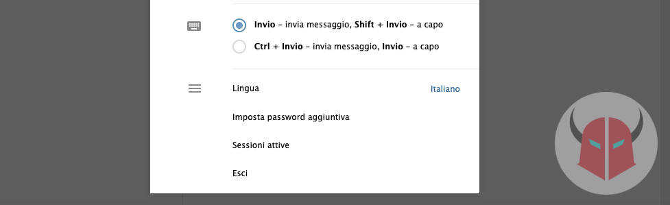 come eliminare account Telegram uscire da Telegram Web