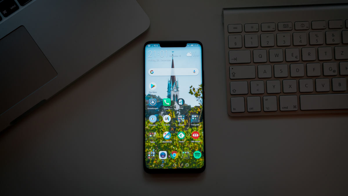 come fare screenshot Huawei gesture