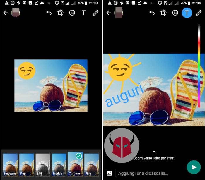 immagini di Buon Ferragosto per WhatsApp editor