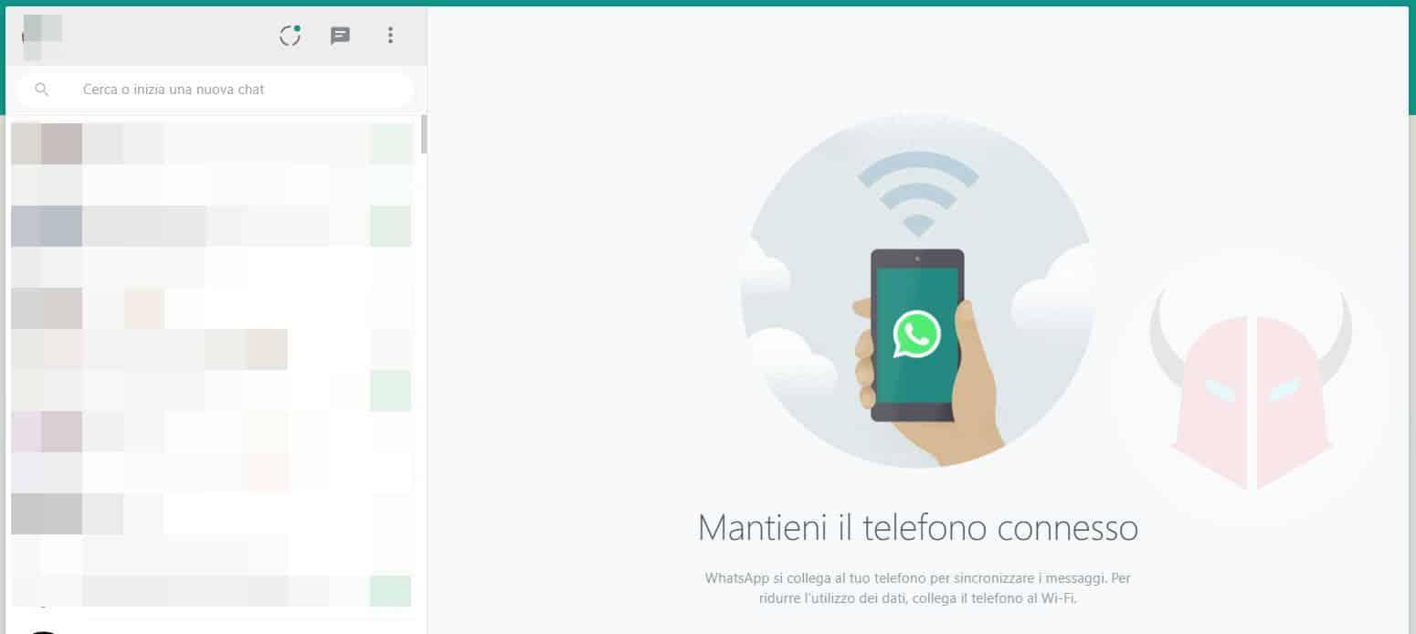 come aggiornare WhatsApp Web