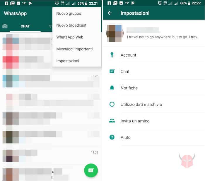 come aggiornare WhatsApp foto profilo