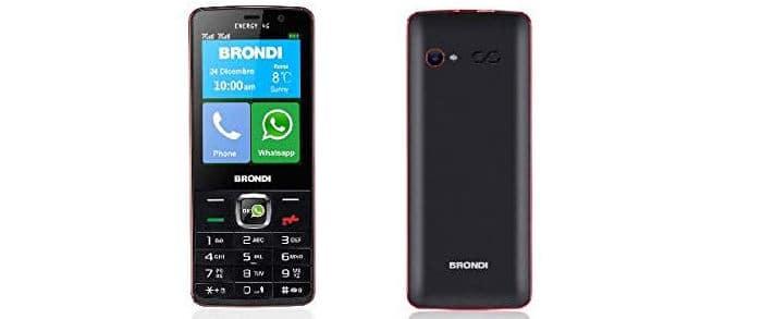 smartphone per WhatsApp Brondi Energy 4G