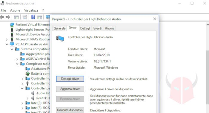 come installare dispositivi output audio Windows 10 manuale