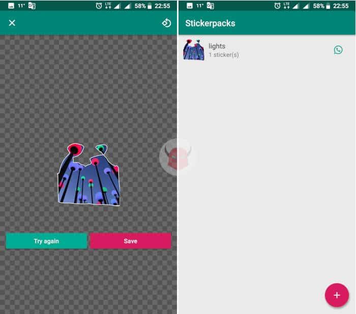 come creare sticker WhatsApp Sticker maker