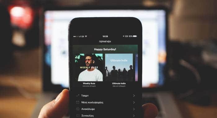 come vedere statistiche Spotify