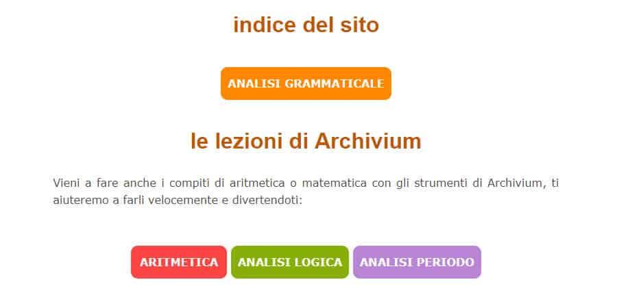 come fare analisi grammaticale online Strumenti Lezioni Esercizi