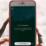 opzione di avvio diretta Instagram