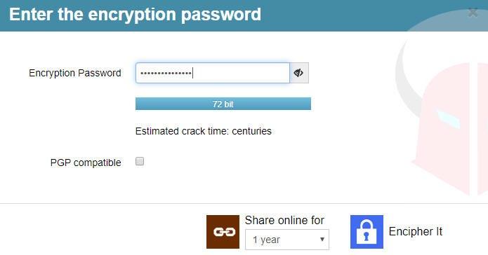come mettere password WhatsApp servizio Encipher It password