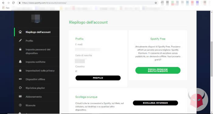 come scaricare musica da Spotify abbonamento Premium gratis